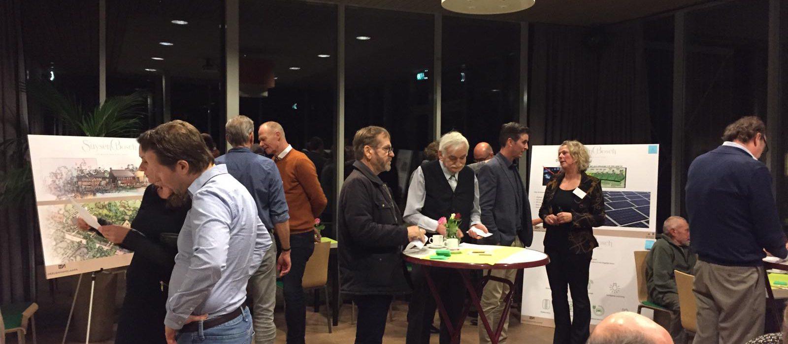 Waardevolle co-creatie avond nieuwbouwproject SuysenBosch